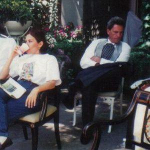 ANNAMARIA DIAS E HERBERT RICHERS JUNIOR FILMANDO EM LOS ANGELES
