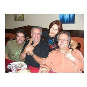 ANNAMARIA DIAS, REGIS MONTEIRO, EDUARDO SAMPAIO E MARIO SERGIO PRETINI