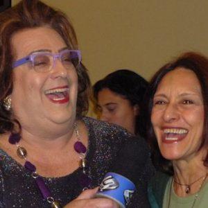ANNAMARIA DIAS E MAMMA BUSCHETTA